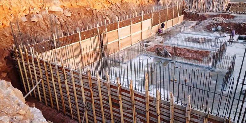 Retaining Wall Shuttering