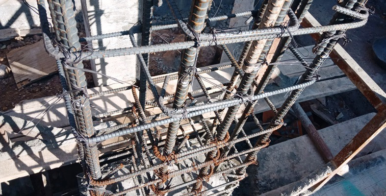 Column Steel Fixing