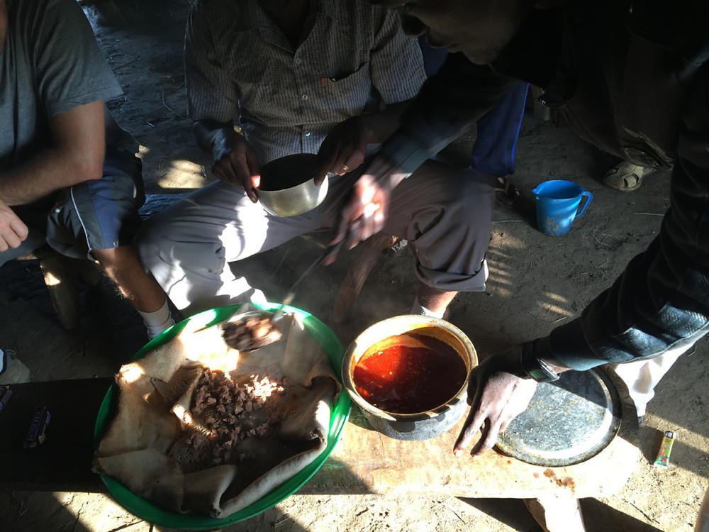 Breakfast in Sarsa