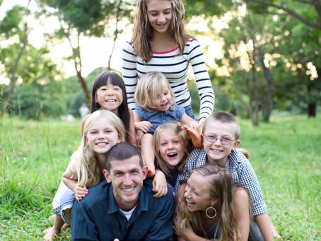 LOVE.  FAMILY.