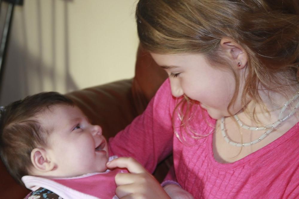 Ella and Alexia...Love at first sight!