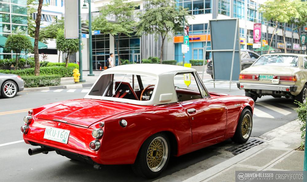 Classic red Porsche