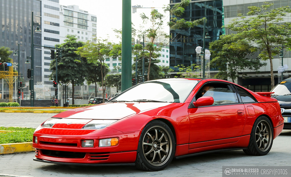 Nissan 300ZX rolling out