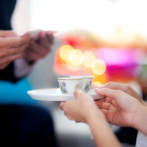 Китайская чайная церемония венчания