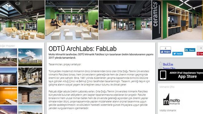 METU ArchLabs // ODTÜ ArchLabs