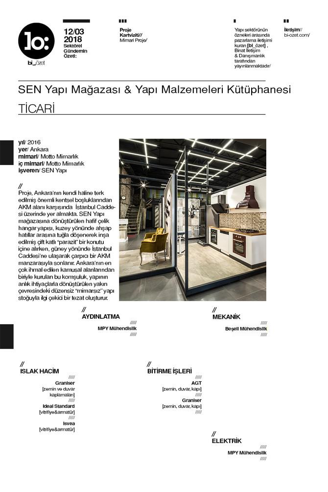 SEN Yapı Showroom // SEN Yapı Mağazası