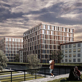 Housing & Commercial Center in Ordu
