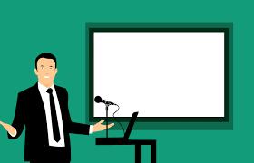 Lichaamstaal tijdens een presentatie