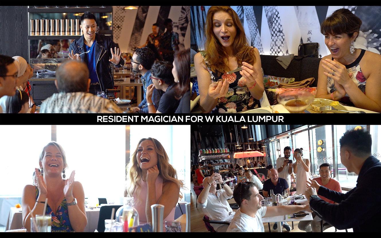 Magic Reactions