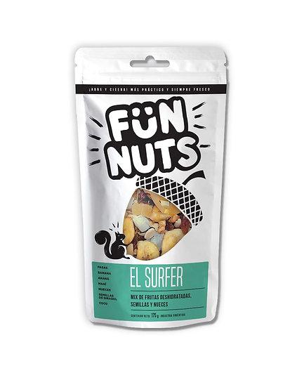 Fün Nuts - El Surfer: Mix de Frutas deshidratadas, frutas secas y maní