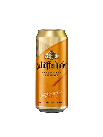 Cerveza de trigo Schofferhofer lata x 500 cc