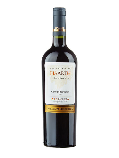 Vino Orgánico Haarth Premium Selection Cabernet Sauvignon x 750 cc