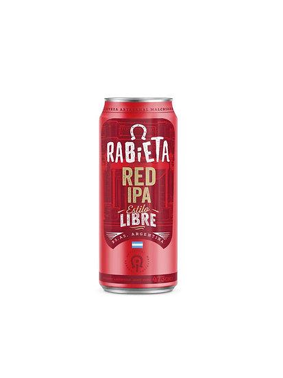 Cerveza Rabieta Red Ipa x 473 cc