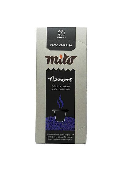 Café Mito Azzurro x 10 cápsulas