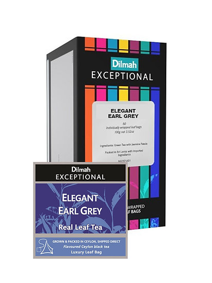 Té Dilmah Exceptional Earl Grey