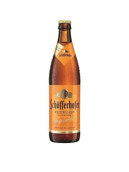 Cerveza de trigo Schofferhofer botella x 500 cc