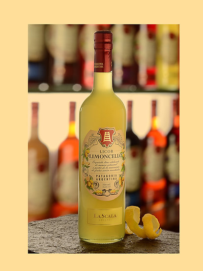 Licor de limoncello - La Scala x 750 ml