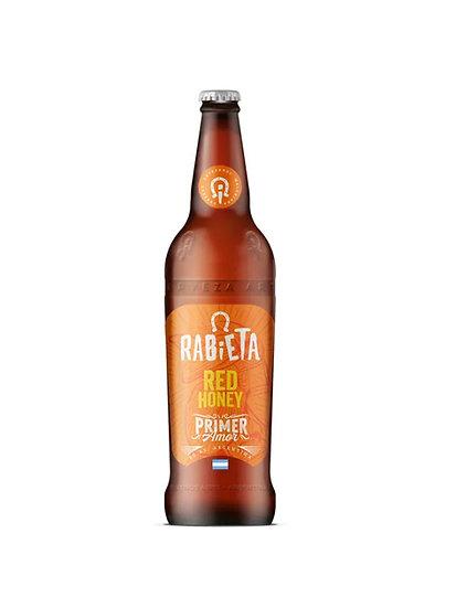 Cerveza Rabieta Red Honey x 710 cc