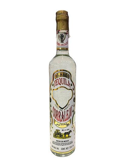 Tequila Corralejo Blanco x 750 cc