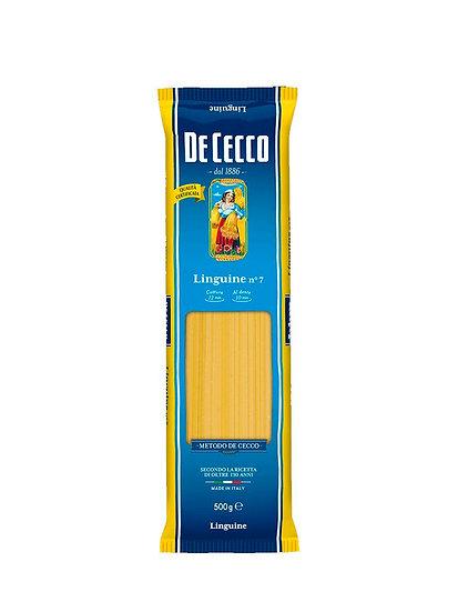 Pasta Linguini, De Cecco x 500 g