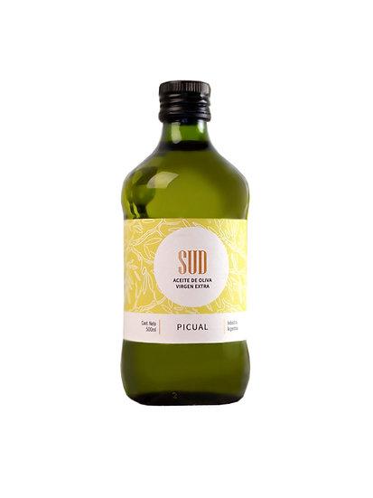 Aceite de Oliva SUD Picual x 500 cc