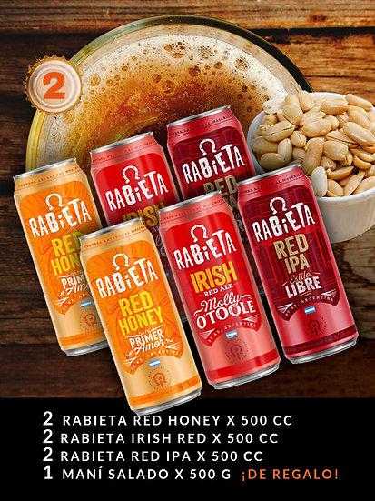 PROMO BEER 2, 6 Latas de 500 ml