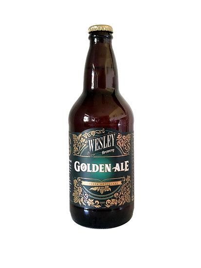 Cerveza Artesanal Golden Ale Wesley x 500 cc