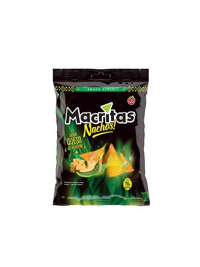 Nachos Mexicanos Jalapeño y Queso x 70g