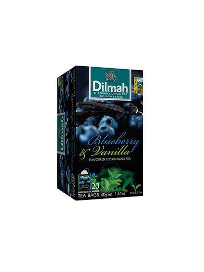 Té Negro Dilmah blueberry & Vainilla
