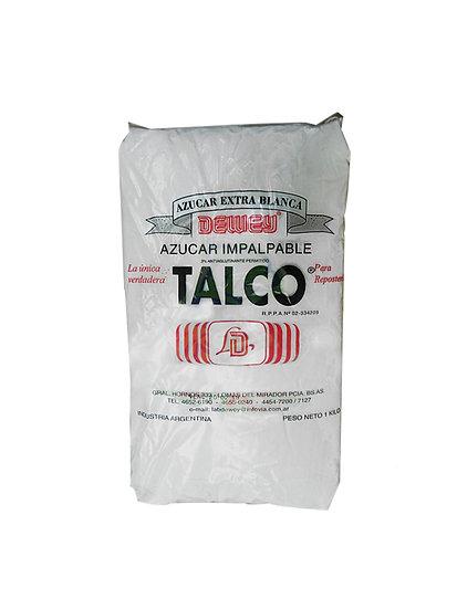 Azúcar Impalpable Talco Dewey x 10 kg