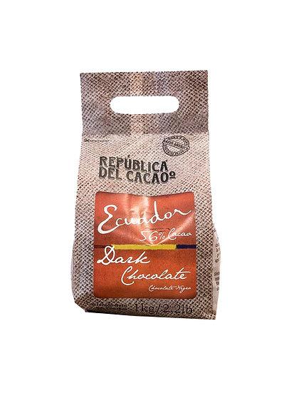 Chocolate Cobertura Dark 56% Ecuador - Rep. del Cacao x 1 kg
