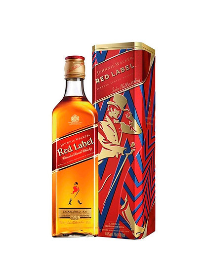 Whisky Johnnie Walker Red Label en Lata x 750 cc
