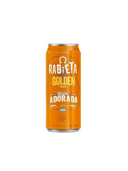 Cerveza Rabieta Golden Ale x 473 cc