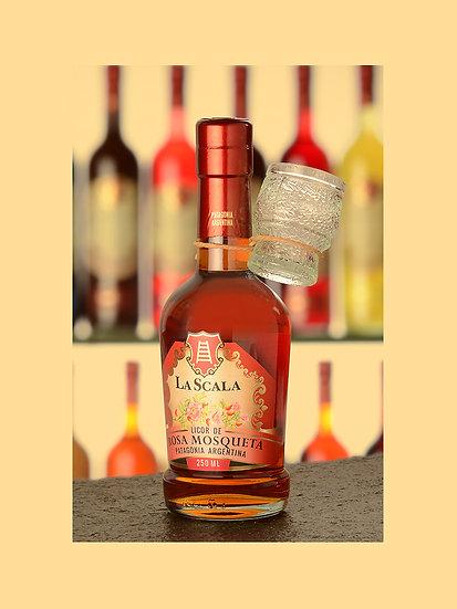 Licor de rosa mosqueta - La Scala x 250 ml