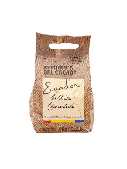 Chocolate Cobertura Blanco Ecuador - Rep. del Cacao x 1 kg