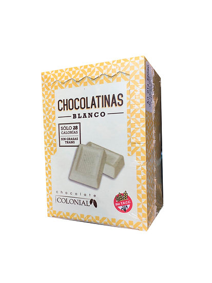 Chocolatinas Blancas x 50 u