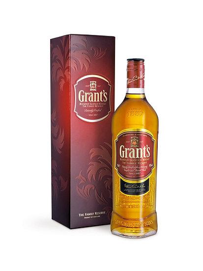 Whisky Grant's Family Reserve x 1000 cc