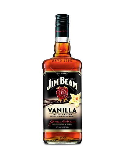 Bourbon Jim Beam Vanilla Label