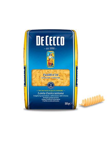 Pasta Fusilli De Cecco x 500 g