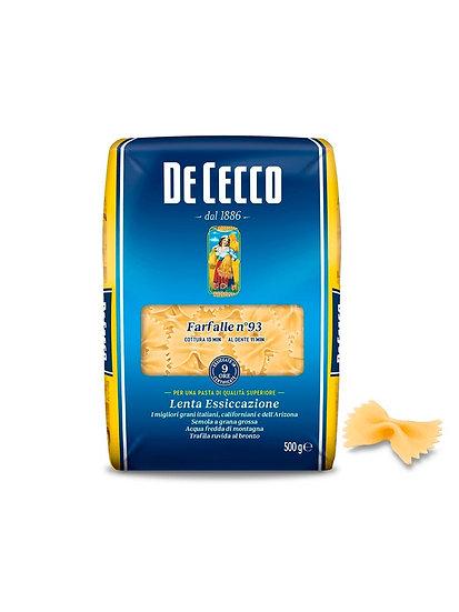 Pasta Farfalle De Cecco x 500 g