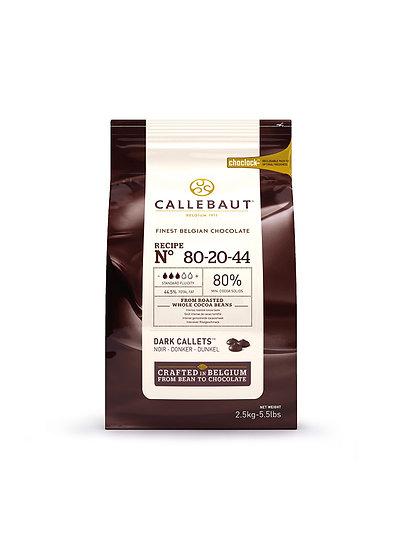 Chocolate Negro Amargo Callebaut 80-20-44 Callebaut x 2,5 kg