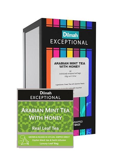 Té Dilmah Exceptional Arabian Mint Tea with Honey