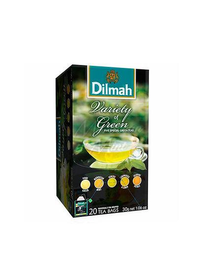 Té Verde Dilmah Green Variety Pack