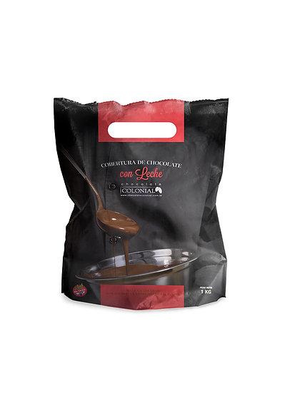 Chocolate Cobertura Con Lechex 1 kg