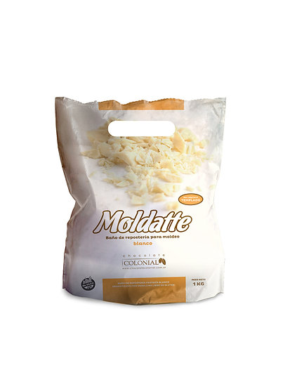 Chocolate Moldatte Blanco x 1 kg