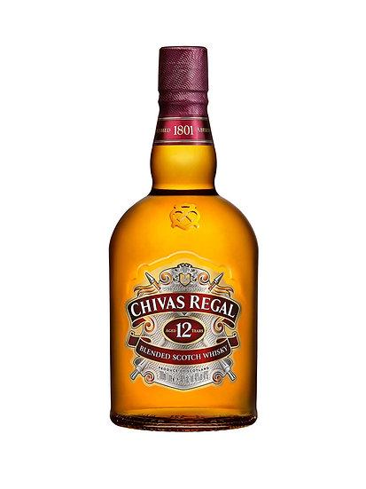 Whisky Chivas Regal 12 años x 1000 cc