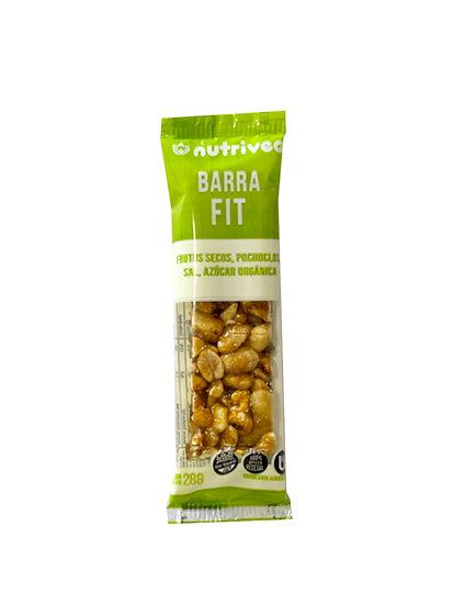 Barra de Frutos Secos Nutriveg Fit x 28 g