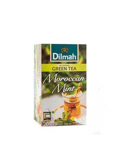Té Verde Dilmah Green Moroccan Mint