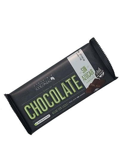 Chocolate sin Azúcar - 55% cacao x 1 u