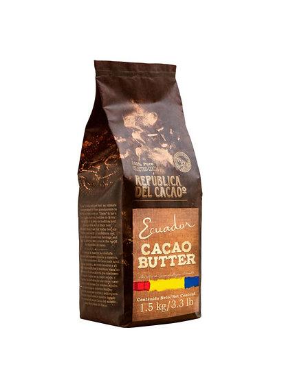 Manteca de Cacao en Virutas República del Cacao x 1,5 kg